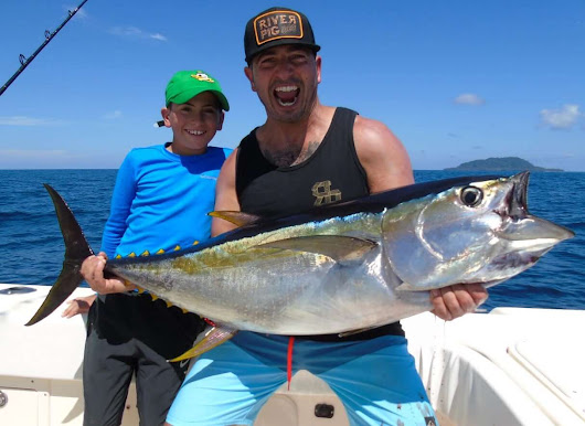 January 2017 Report - Tunas, Roosterfish, Deep Dropping and More! -