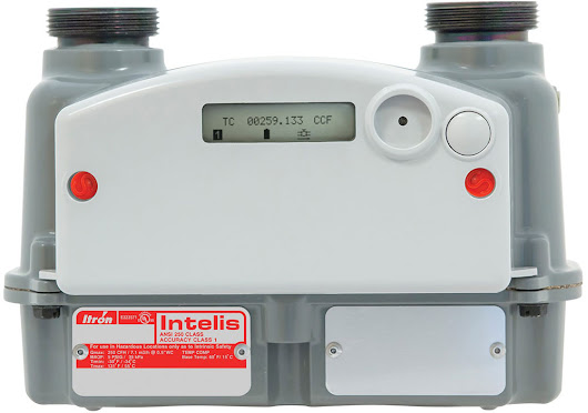 Ultrasonic Gas Meter | Itron OpenWay Riva Intelis for Residential Use