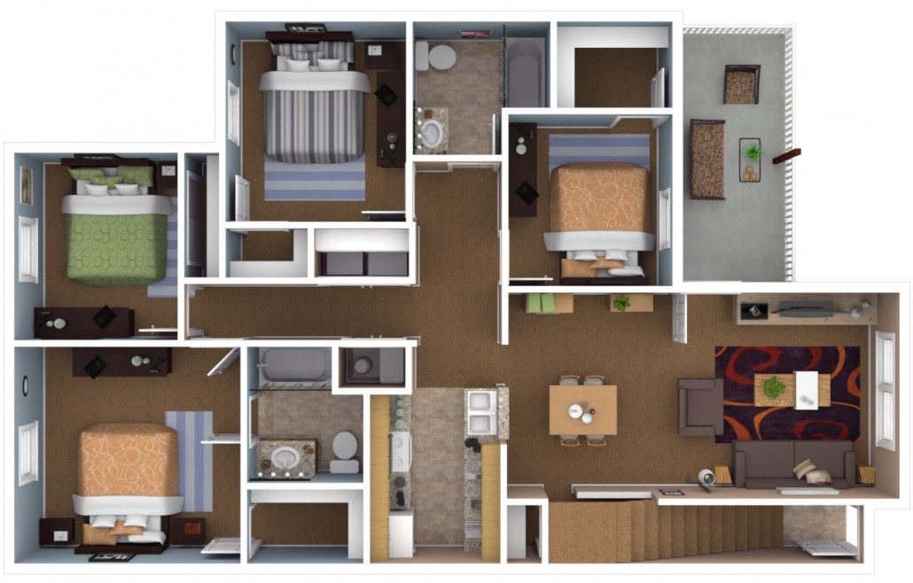 Apartments In Warsaw Indiana | Floor Plans