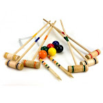 Sunnywood Inc. 4353 Sterling Sports 6 Player Croquet Set