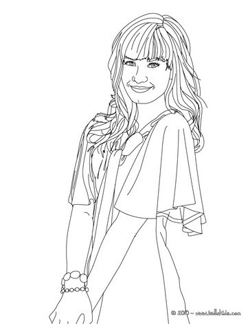 justin bieber coloring pages for girls