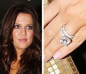 Khloe kardashian wedding ring designer   Khloe kardashian
