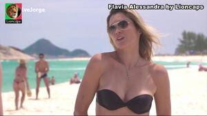 Flavia Alessandra sensual na novela Salve Jorge