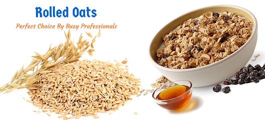 Are you on dieting – Start eating rolled oats