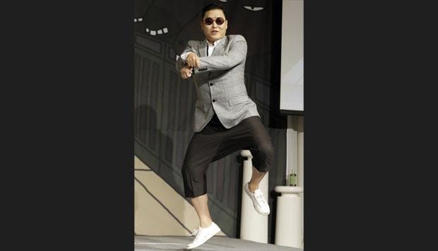 Ada Polisi  'Gangnam Style' di Korea Selatan