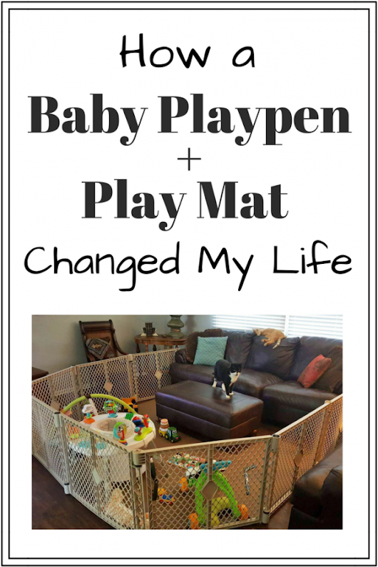 Baby Playpen + Baby Play Mat for Crawling Changed My Life
