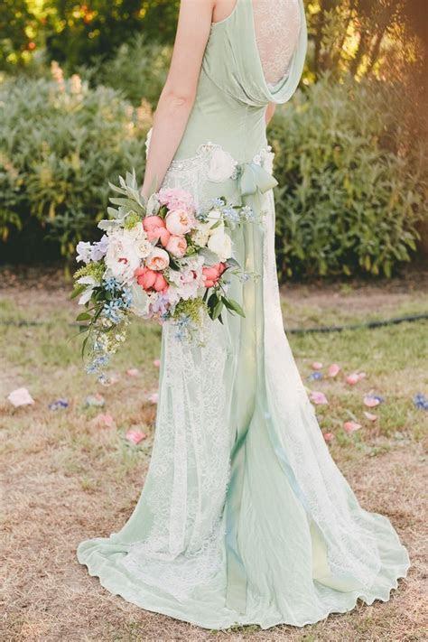 Mint green Claire Pettibone dress. Too pretty! Project