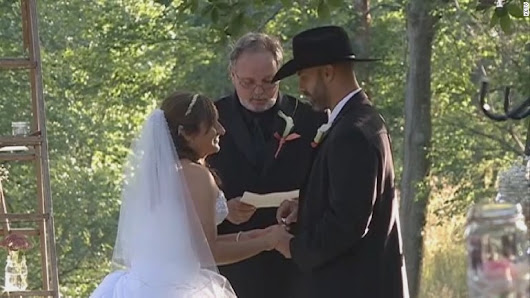 Paralyzed bride shocks guests