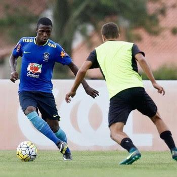 Vinicius Júnior seleção brasileira sub-17 (Foto: Divulgação / CBF)