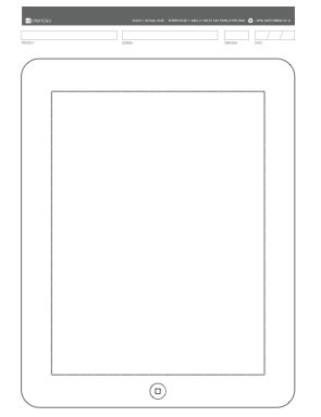 IU plantillas Sketch Pad