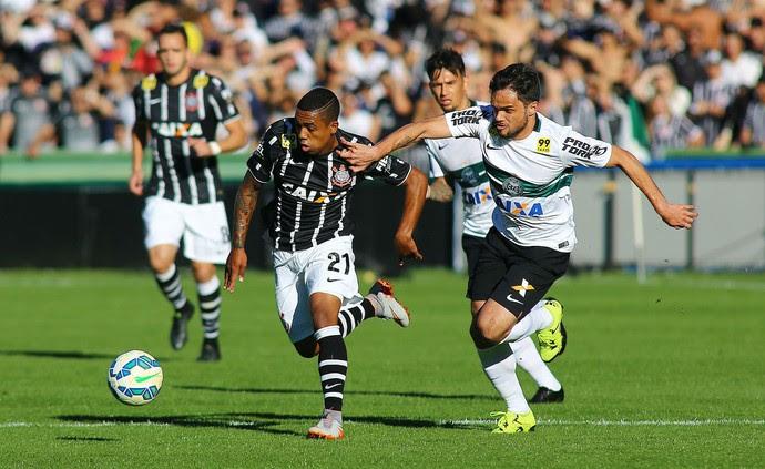 Coritiba Corinthians  (Foto: Giuliano Gomes/ Agência PR PRESS)