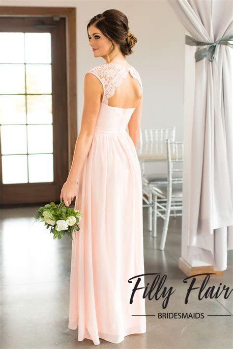 17 Best ideas about Blush Bridesmaid Dresses on Pinterest