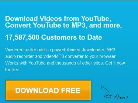 Vixy Free Youtube Downloader