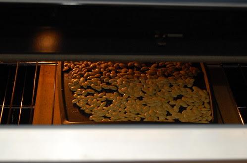 Pumpkin Seeds, Toasting