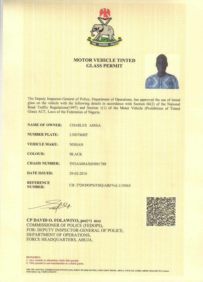 Tinted Glass Permit Oblong Media