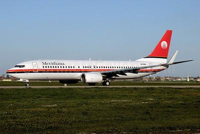 Meridiana Boeing 737-84P WL EI-IGN (msn 35074) BLQ (Marco Finelli). Image: 911757.