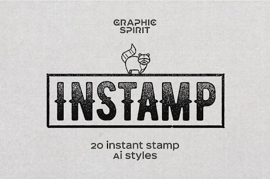 Instant Stamp Styles for Adobe Illustrator | Design Share