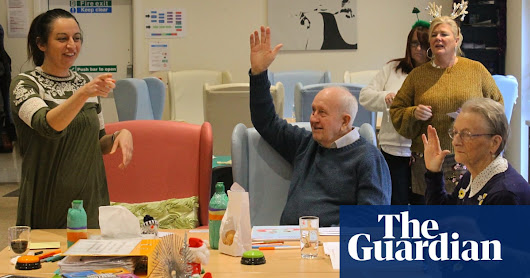 The care home residents proving it's never too late to learn a new language | Society | The Guardian