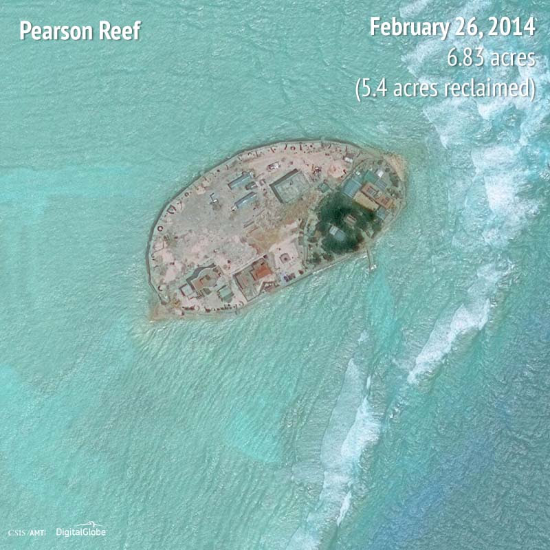 Pearson Reef 2014 | 5.4 acres reclaimed