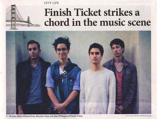 An interview with Bay Area band Finish Ticket