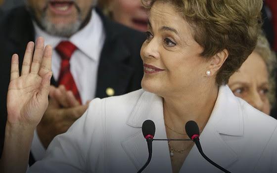 Pronunciamento Dilma Rousseff (Foto: Pedro Ladeira/Folhapress)