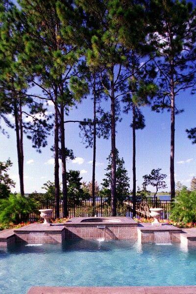 Rectangle Pool Ideas Backyard