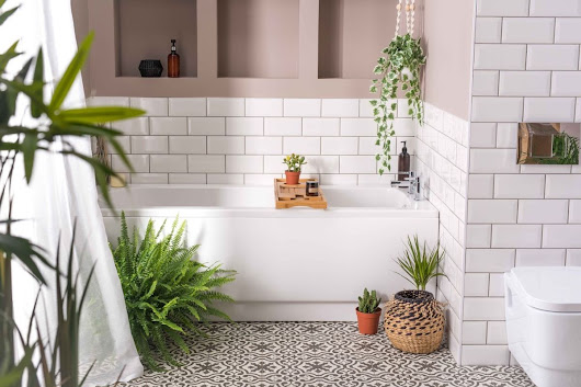 How to choose the right size tiles for a small bathroom