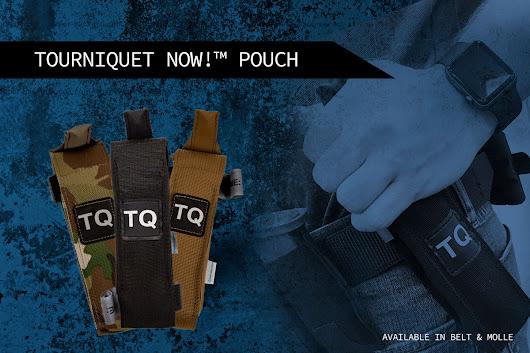 Tourniquet Now Pouch is Ready for Action - Airsoft & MilSim News Blog