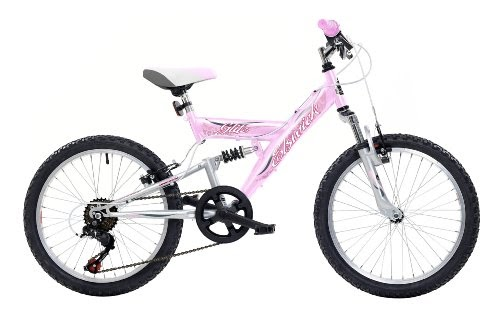 Mountain Bikes Elswick Glitz Girls Mountain Bike - Pink -7094