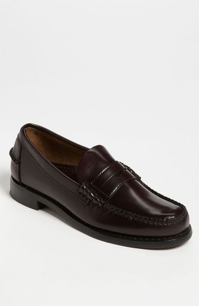 Sebago Classic Penny Loafer in Black for Men (cordovan)   Lyst