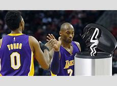 Kobe Bryant Throws Away Nick Young's Adidas Shoes   YouTube