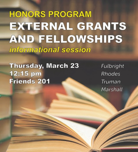 IC Honors: Pizza, Fellowships, and Grants, Oh My!