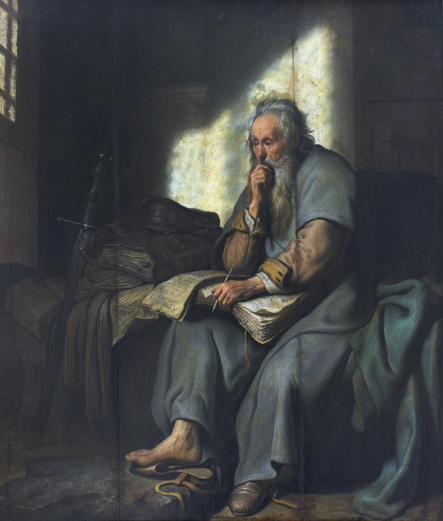 Rembrandt Harmensz. van Rijn: St. Paul in Prison