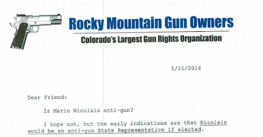 Rocky Mountain Gun Owners: We're  suing Secretary of State, Ethics Watch