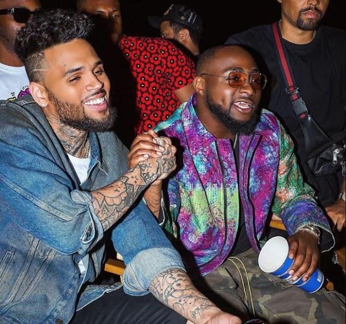 """DMW Boss, Davido says - """"Chris Brown Has Never Danced In The Rain Before"""""""