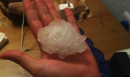 One dead, dozens injured as thunderstorms, hail pound Israel