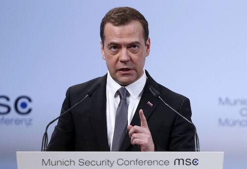 PM Medvedev takes part in Munich Security Conference