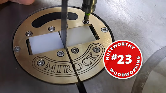 Noteworthy Woodworking #23