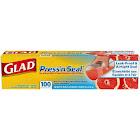 Glad Press'n Seal Plastic Food Wrap - 100 Sq ft, Clear