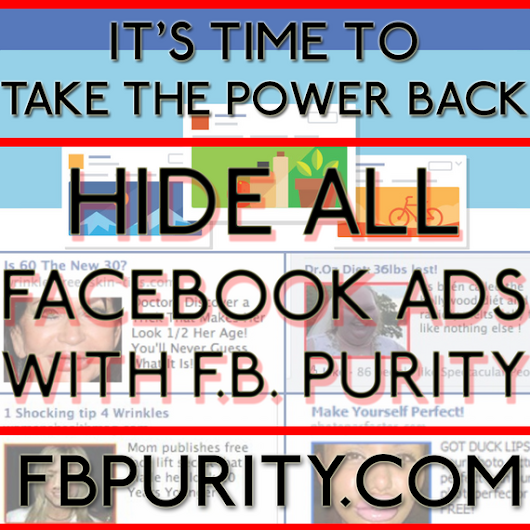 F.B. Purity – Cleans Up Facebook | F.B. Purity – News and Updates about the F.B. (Fluff Busting) Purity browser extension for Chrome, Firefox, Safari and Opera, that cleans up Facebook.