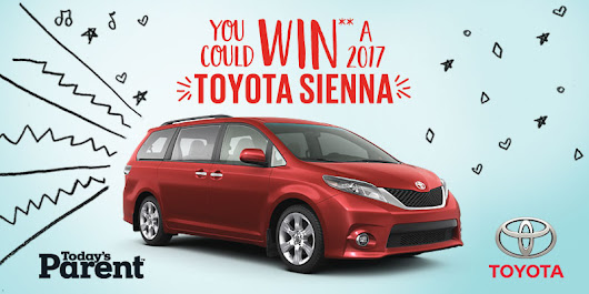 Today's Parent - 2017 Toyota Sienna Contest - Shopping Parrot