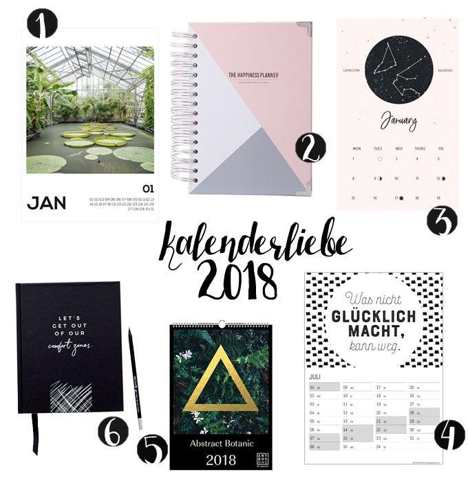 calendar planner 2018