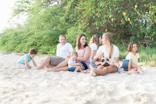 Lifestyle Beach Session | Family Photographers Memphis TN
