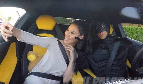 aventador driving batman pranks uber users video