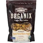 Castor & Pollux Organix Organic Dog Cookies Peanut Butter Flavor 12 oz.