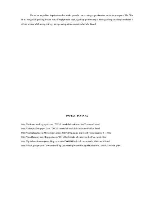 MAKALAH MICROSOFT WORD 2007