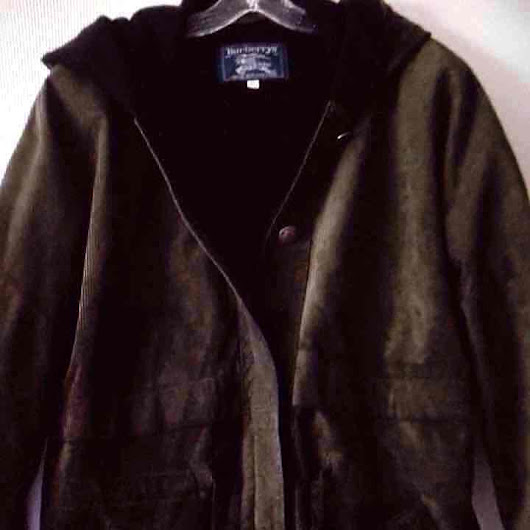 ♥BURBERRY COUTURE coat jacket HOODED($ 175) - Mercari: Anyone can buy & sell