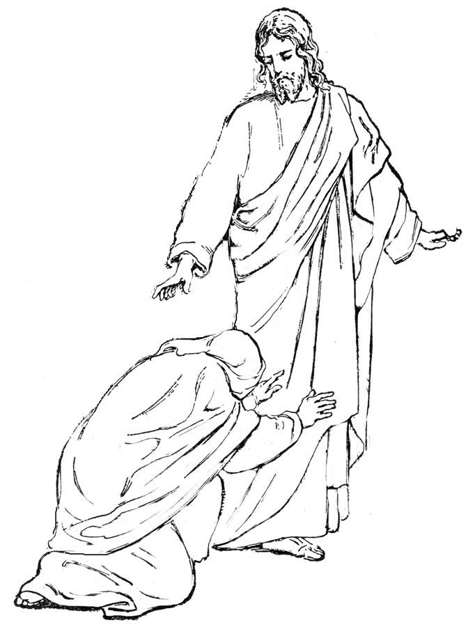 Bible Character Coloring Pages - Coloring Home