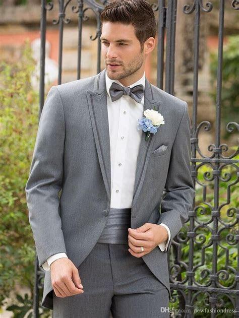 gray groom tuxedo   2016 Groomsmen   Tuxedo wedding, Grey