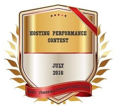 Hosting Performance Contest - July 2016 Roundup (14 Hosts Fight) | Blogging, Social Media & Tools